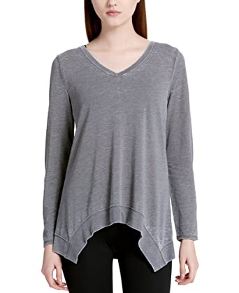 b9d21e18 Calvin Klein Performance Women's Long-Sleeve Top at Amazon Women's Clothing  store: