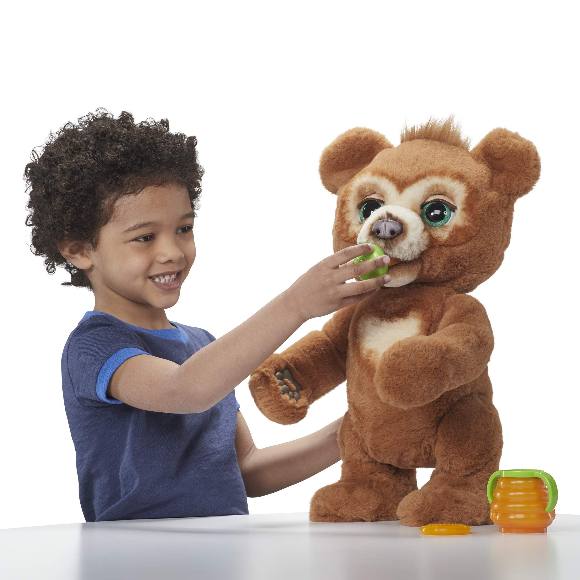 FurReal Cubby, The Curious Bear Interactive Plush Toy, Ages 4 and Up by FurReal (Image #7)