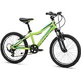"Mongoose Boys Rockadile 20"" Wheel Mountain Bike, Green, One Size"