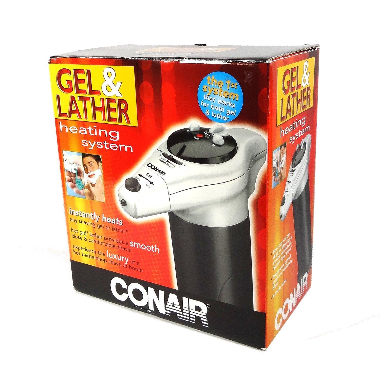 Conair HGL1 Combination Hot Gel/Lather Machine, Black