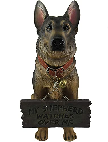 DWK Dog Lovers Dog Signs   Home Decor   Outdoor Sign   Yard Art   Husky Lovers Decor   Rustic Home Decor   Outdoor Decor   Porch Decor and Signs German Shepherd