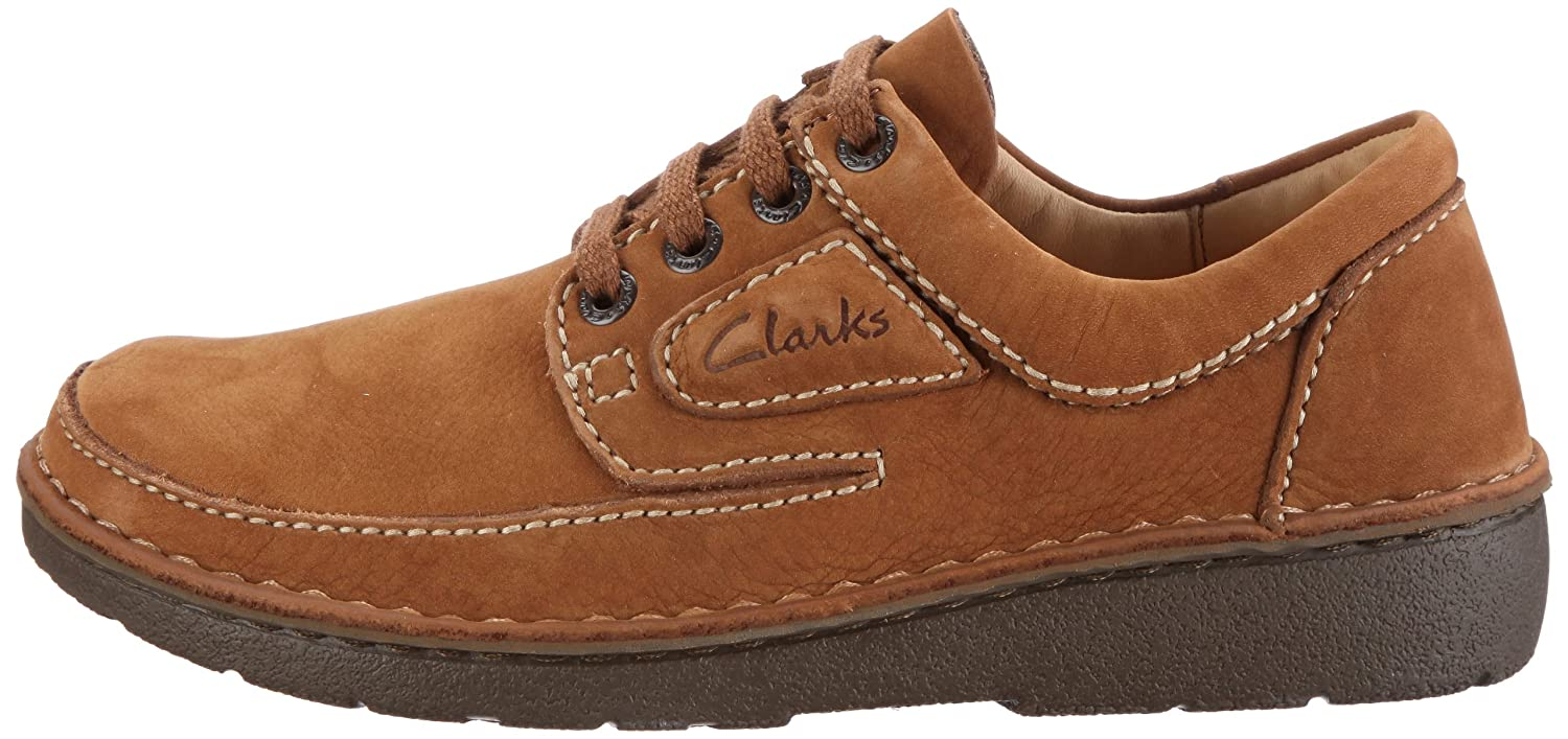 Clarks Nature II 00110535 birch Tumbled Nubuck
