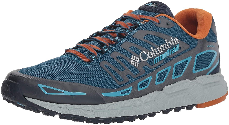 Columbia Bajada III Winter, Zapatillas de Running para Asfalto para Hombre 41.5 EU|Azul (Phoenix Blue, Beta 489)