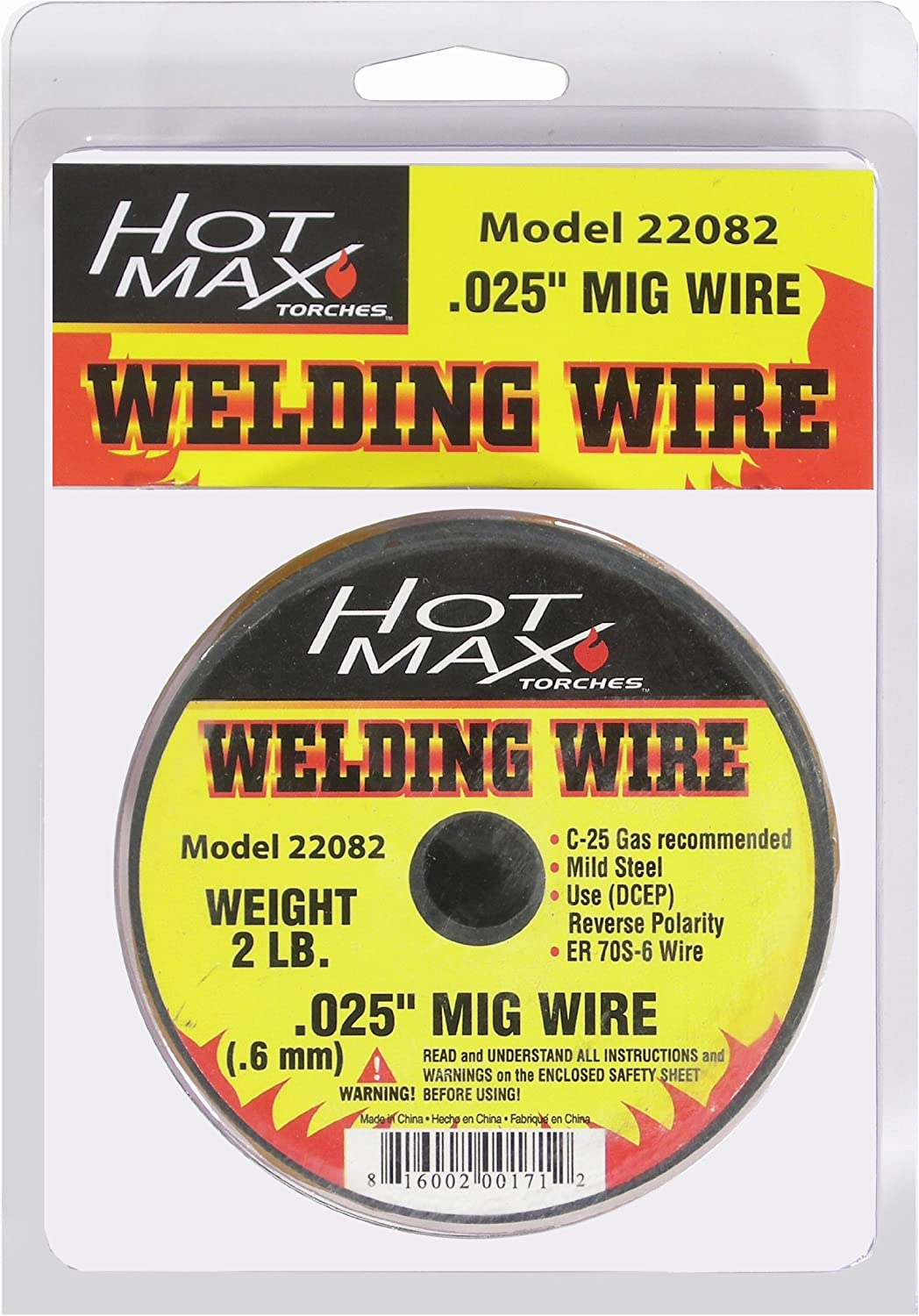 Hot Max 22083 .03-Inch Mild Steel MIG Wire 2#