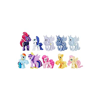 My Little Pony The Movie Magic of Everypony Round up mini figure collection: Toys & Games