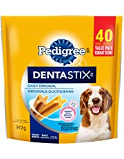 Pedigree Dentastix Oral Care Treats for Dogs - Original - Medium - 40 Sticks