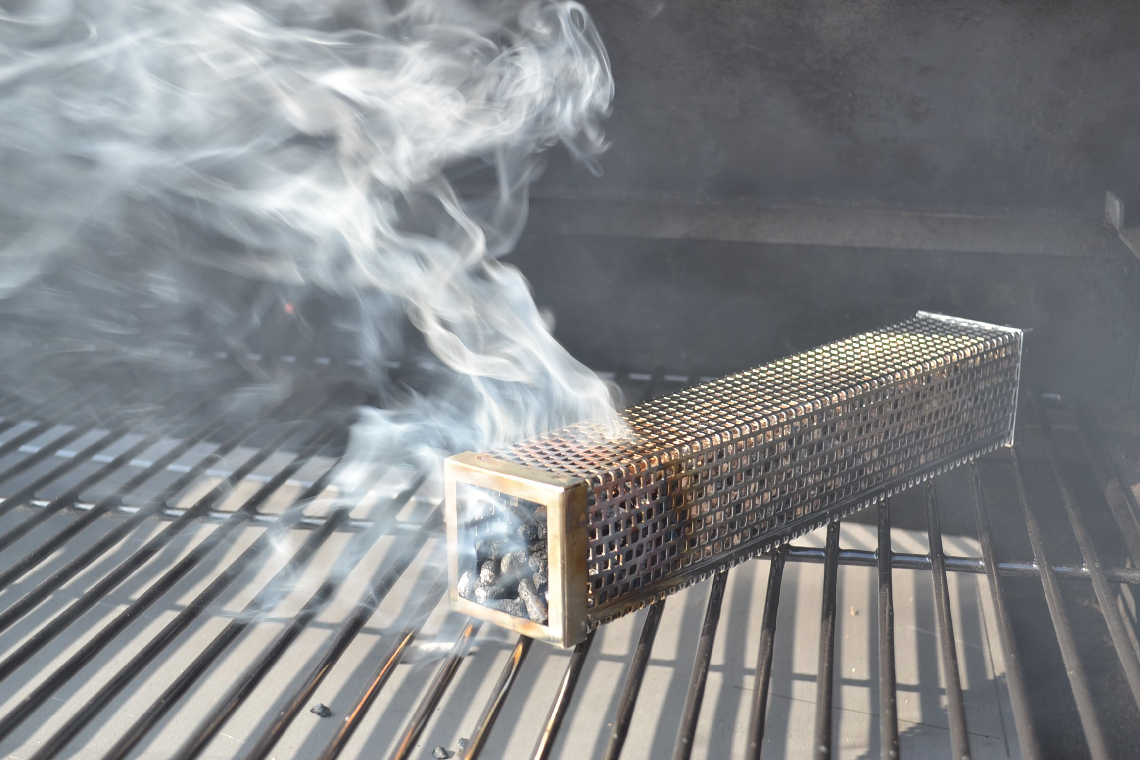 Smoke Daddy Inc. 12'' BBQ Tube Smoker from Use in ANY GRILL! by Smoke Daddy Inc. (Image #1)