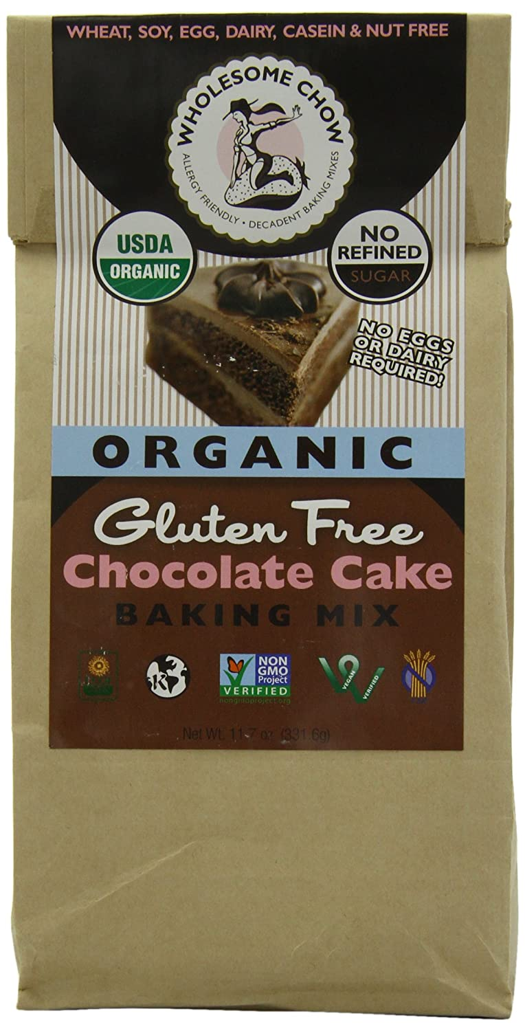 Amazon.com : Wholesome Chow Organic Gluten Free Cake Mix ...