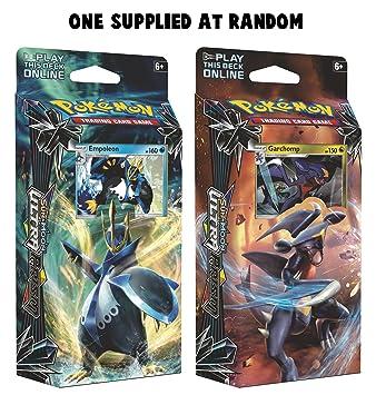 Pokemon 164-80350 sol y Luna ultra prism tema Deck Card ...