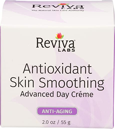 Reviva Labs Antioxidant Skin Smoothing Advanced Day Cream 2 Ounce