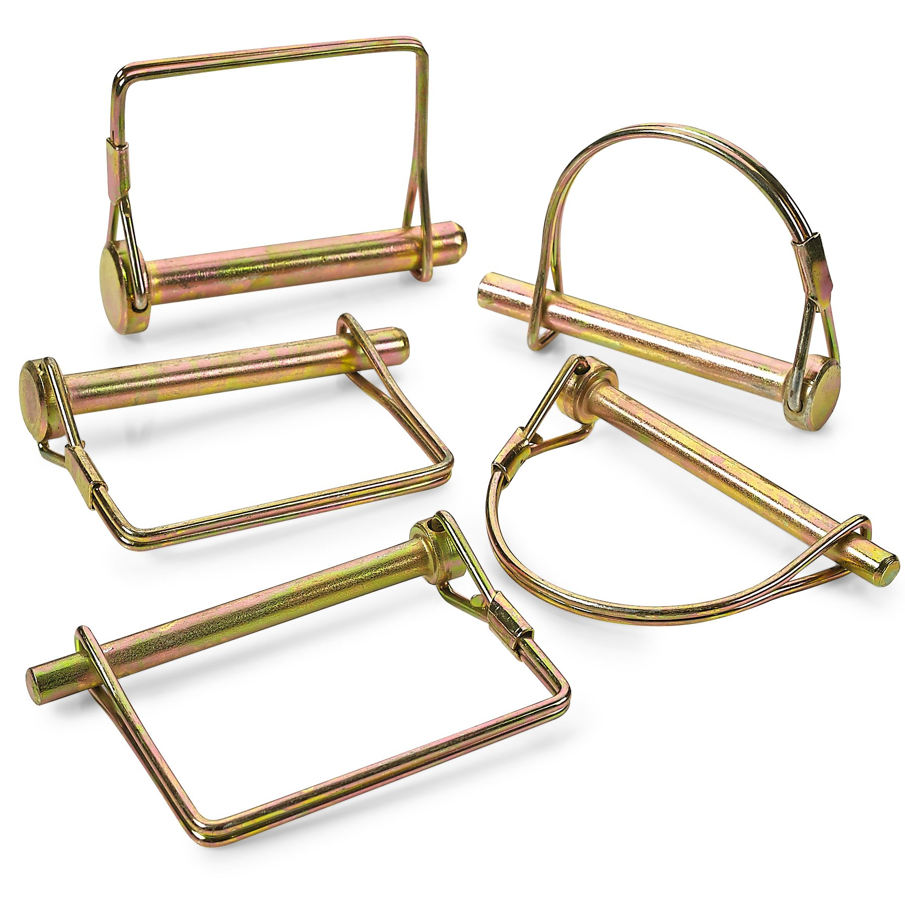 Katzco Pin Assortment Set - for Safety Power Take Off Assemblies, Automotive, Farm, Trailers, Wagons, Hitches, Couplers, Towing, Lawn, and Garden, PTO by Katzco