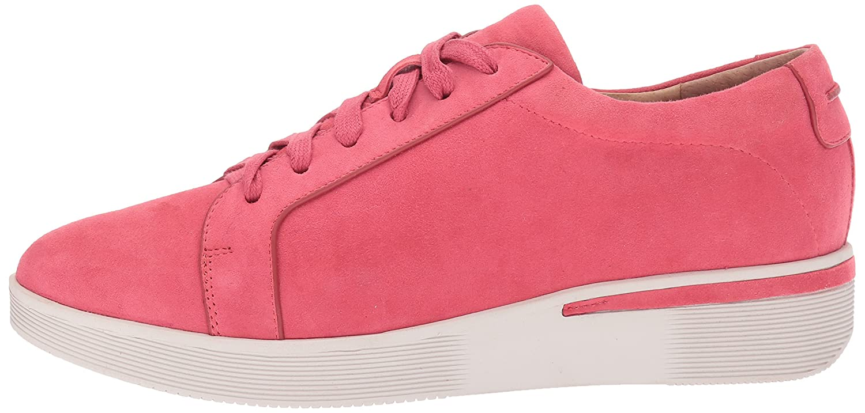 Gentle Souls Women's Haddie Lace up Platform Wedge Sneaker B0716SDLJF 7 B(M) US Coral