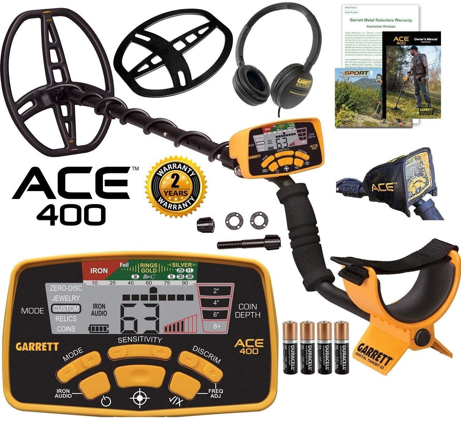 Garrett ACE 400 Best metal detector
