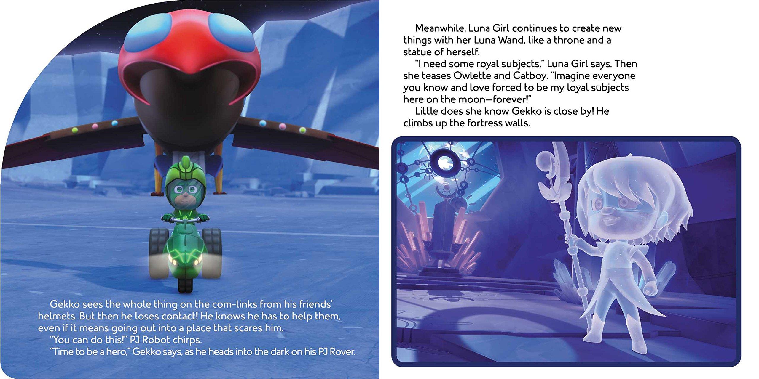 Super Moon Adventure (PJ Masks) : Dingee, A. E.: Amazon.es ...