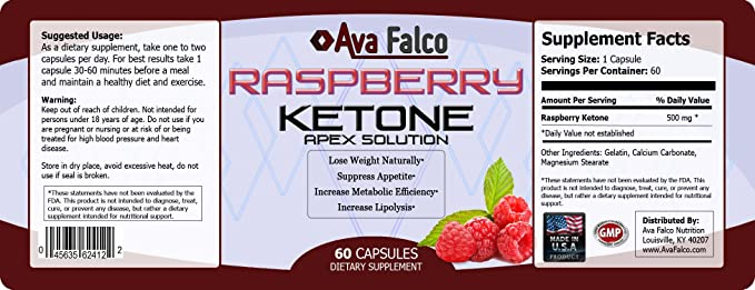 Amazon Com Raspberry Ketones Naturally Lose Weight 500mg Of High Quality Raspberry Ketones Per Capsule 60 Ct 100 Natural Weight Loss With Raspberry Ketone Appetite Suppressant Health Personal Care