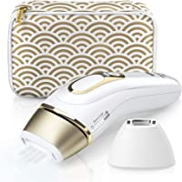 Braun IPL Silk·expert Pro 5 PL5137 Latest Generation IPL, Permanent Visible Hair Removal, White and Gold, with Deluxe Pouch, Venus razor and Precision Head