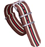 colorati elegante nylon NATO bande cinturini stile durevoli sostituzioni per gli uomini donne