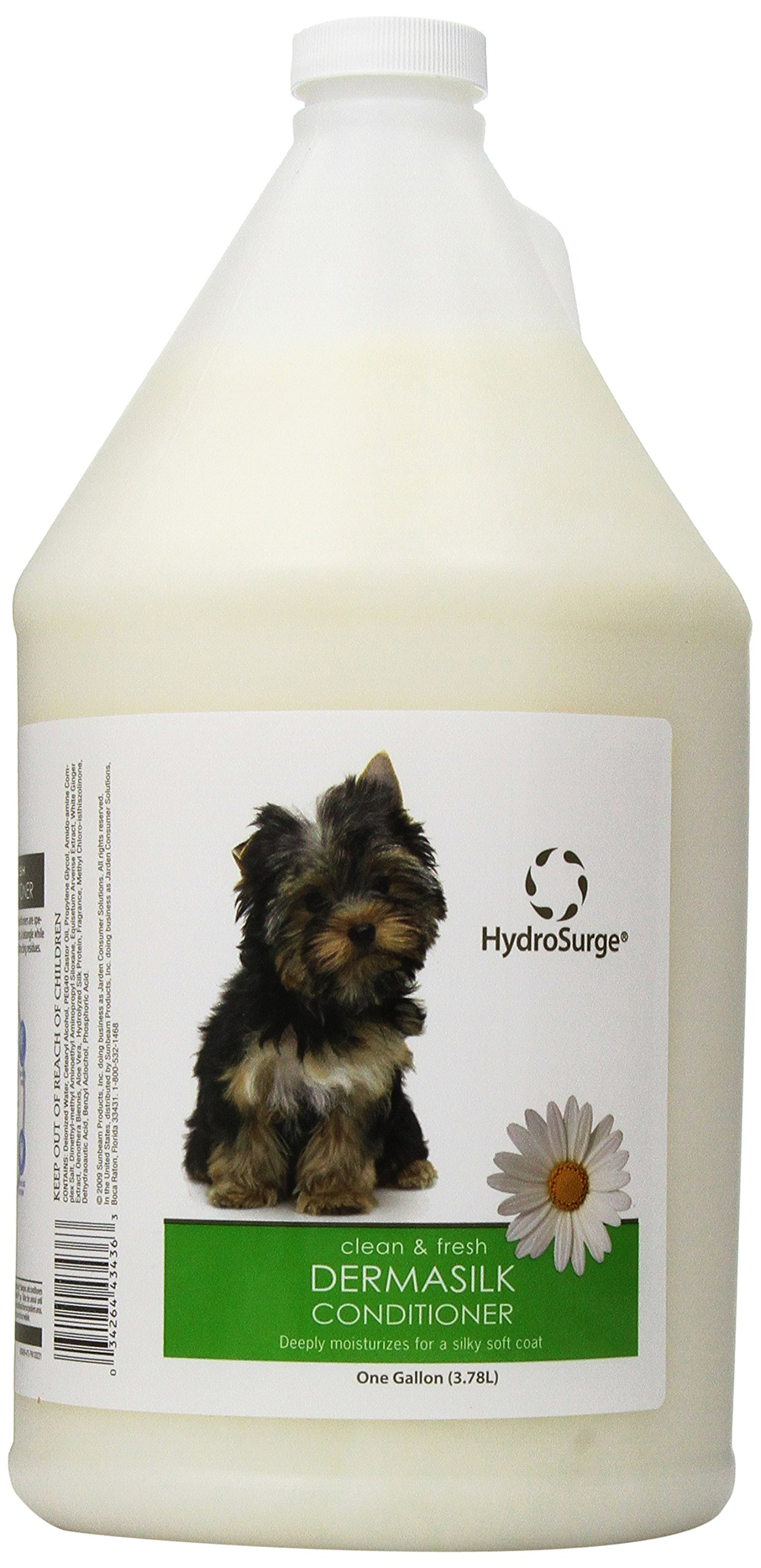 HydroSurge Dermasilk Dogs and Cats Conditioner, 1-Gallon by HydroSurge