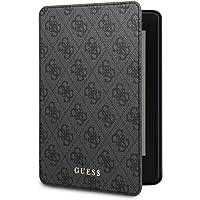 Guess - Custodia per Kindle Paperwhite, modello 4G, con attivazione/spegnimento automatici, Nero - non compatibile con la versione del 2018 (10ª generazione)