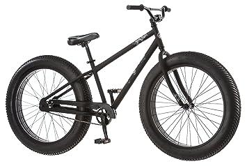 Mongoose Beast Men S Fat Tire Bicycle Black 26