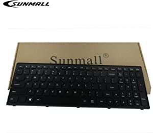 SUNMALL Keyboard Replacement with Frame for G500S G505S G510S S500 S510 S510P Z510 Flex 15 Series Laptop US Black (Not Fit Flex 2 15)