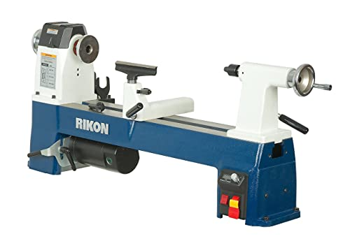 RIKON Power Tools 70-220VSR 12-1 2 x 24 VSR MIDI Lathe,