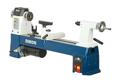 "RIKON Power Tools 70-220VSR 12-1/2"" x 24"" VSR MIDI Lathe,"