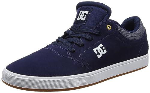 DC Shoes Crisis Se, Scarpe da Ginnastica Basse Uomo, Multicolore (Navy Blue), 42 EU