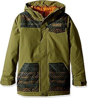 5a57ca8270cb Amazon.com : Burton Symbol Snowboard Jacket Kid's : Clothing