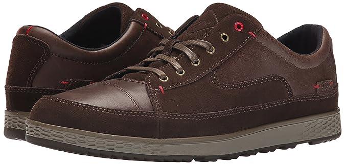 Cushe Sonny, Sneakers Basses Homme - Marron (Dark Brown/Red), 41 EU