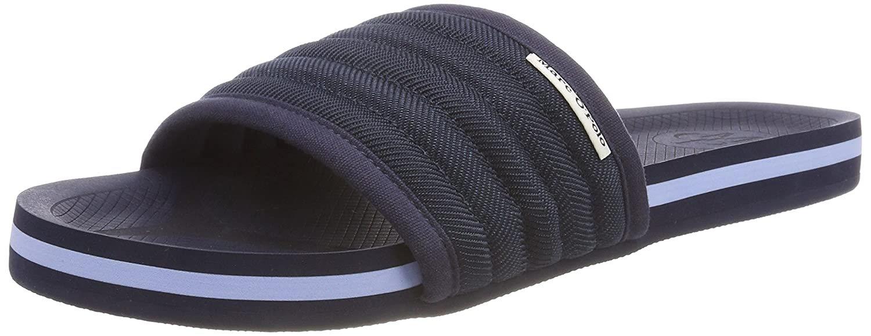 Flat Sandal 80323691101102, Zuecos para Hombre, Azul (Navy 890), 44 EU Marc O'Polo