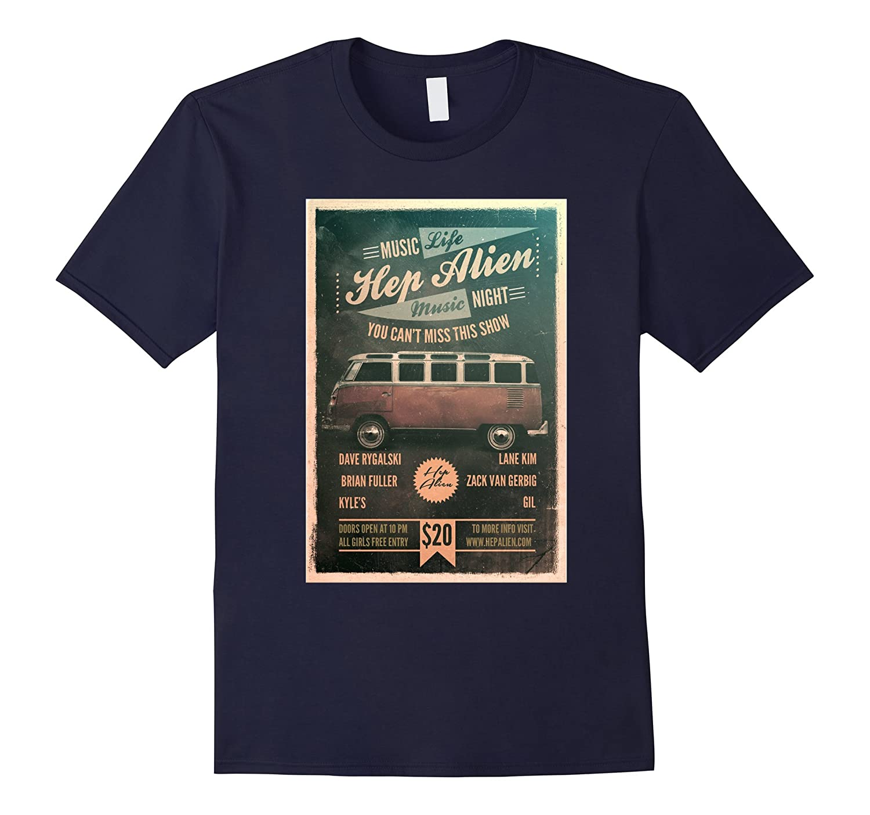Hep Alien T Shirt - Poster Design-CL
