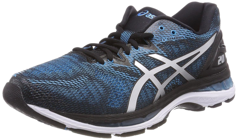 Asics Gel-Nimbus 20, Zapatillas de Running para Hombre 42 EU|Azul (Island Blue/White/Black 4101)