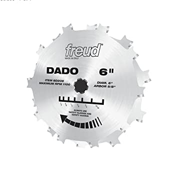 Freud 6 x 10t pro dado set sd206 dado saw blades amazon freud 6quot x 10t pro dado set keyboard keysfo Gallery