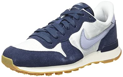 new product ed3a6 de6ec Nike Damen WMNS Internationalist Sneaker, Weiß (Summit White Glacier Grey-Thunder  Blue