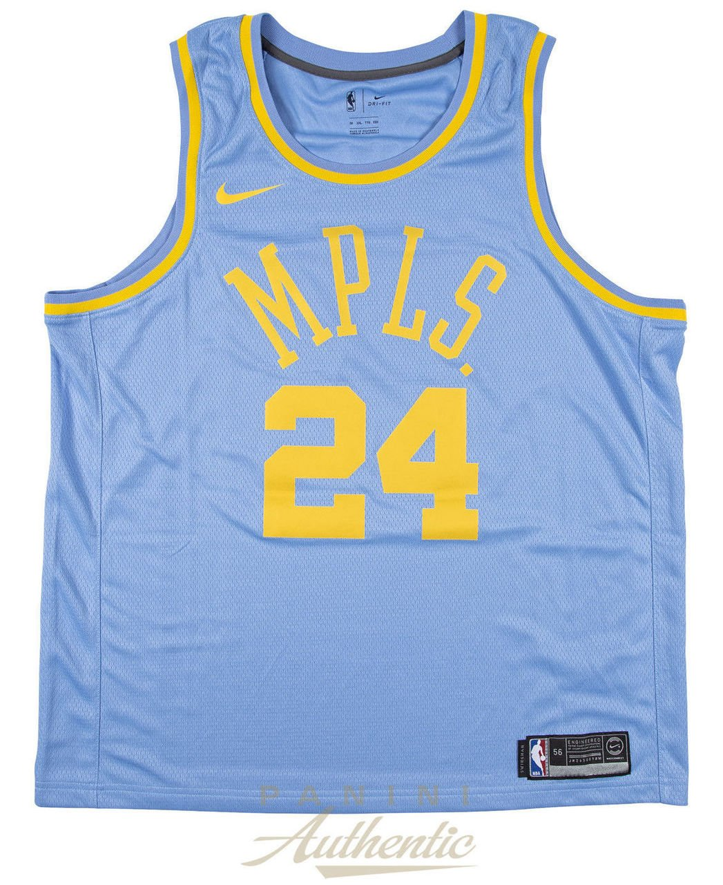 ce4af889dad3 Amazon.com  KOBE BRYANT Autographed Minneapolis Lakers Throwback Jersey  PANINI  Sports Collectibles
