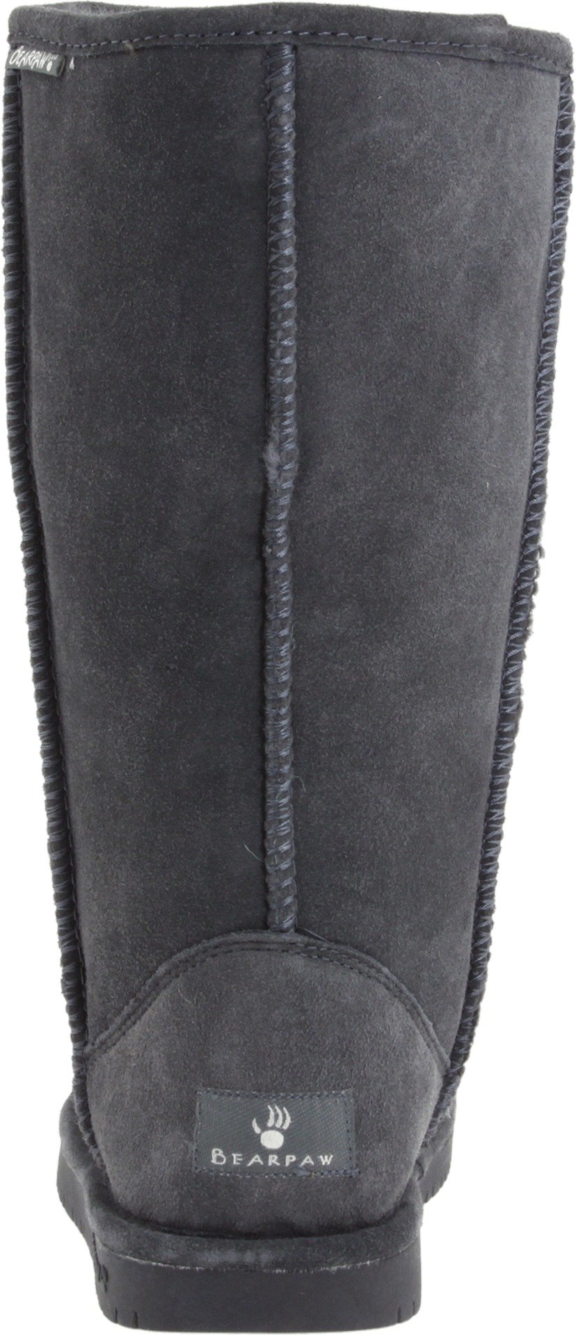 BEARPAW Women's Emma Tall Winter Boot, Charcoal, 9 M US by BEARPAW (Image #2)