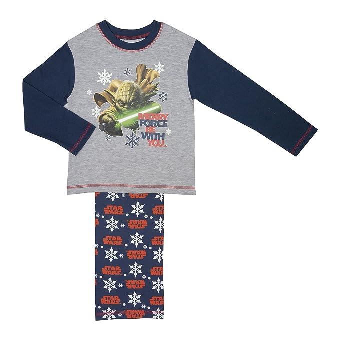 Boys Pyjamas New Pjs Black Grey Skylanders Sleepwear Cotton Age 4-5 Years