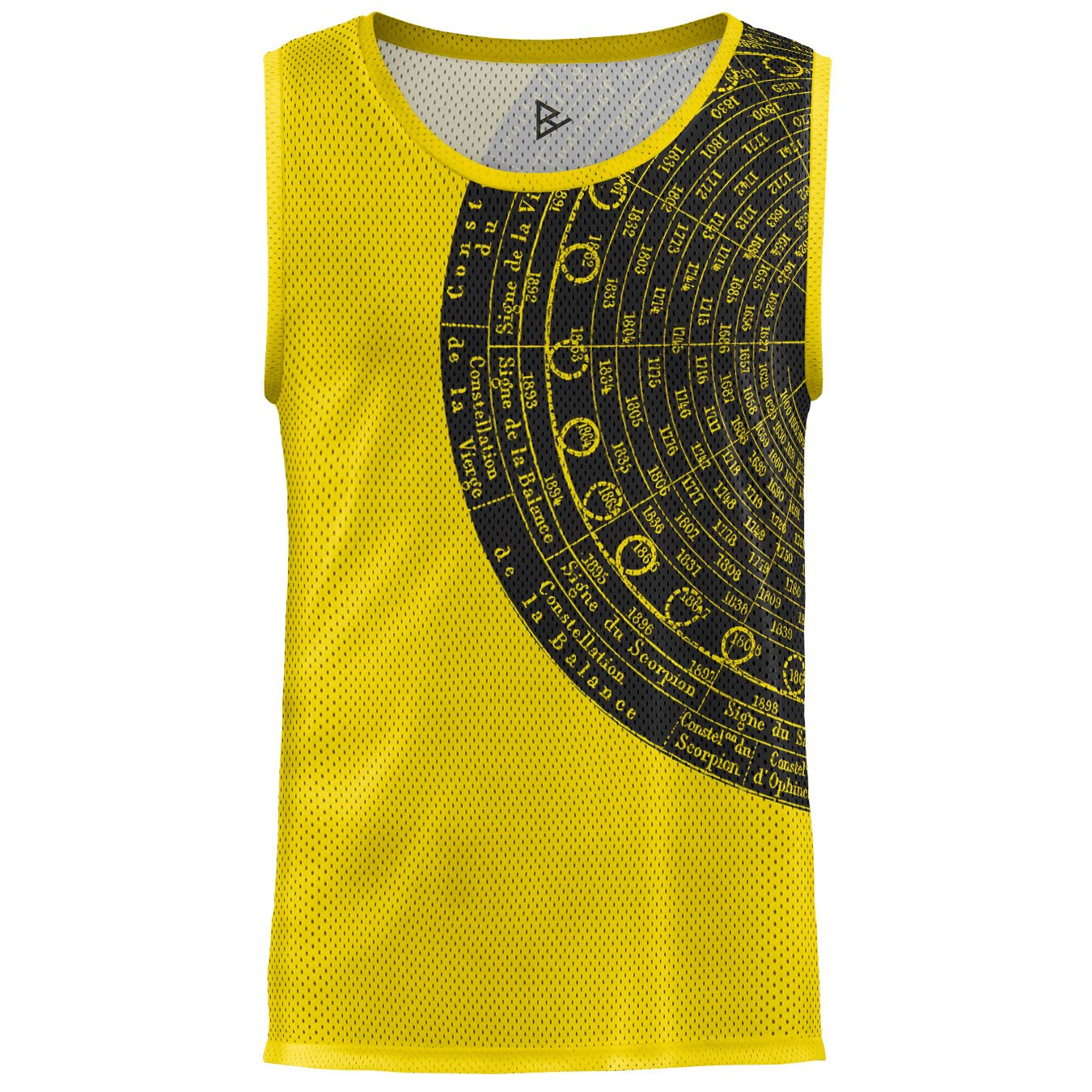 Blowhammer Canotta Tank Top Uomo Astroyellow