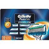Gillette Fusion ProGlide Men's Razor Blade Refills, 12 Count, Mens Razors / Blades
