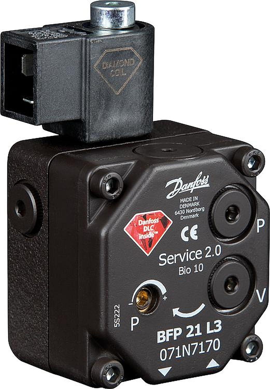 Danfoss Diamond Serie /Ölbrennerpumpe Typ BFP 21L3 links 071N7170 Servicepumpe