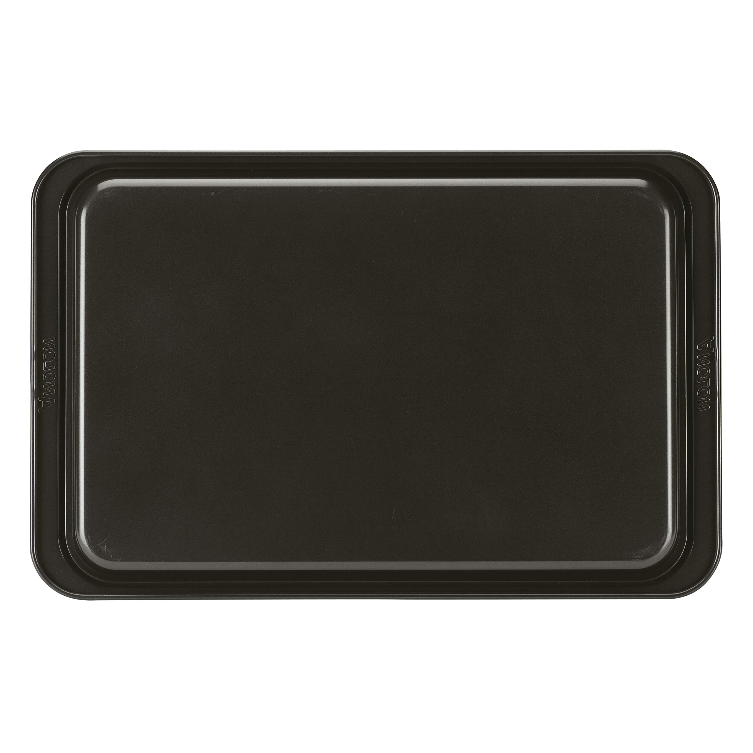 Anolon Eminence Nonstick Bakeware Cookie Pan, 11-Inch x 17-Inch, Onyx with Umber Interior by Anolon (Image #3)