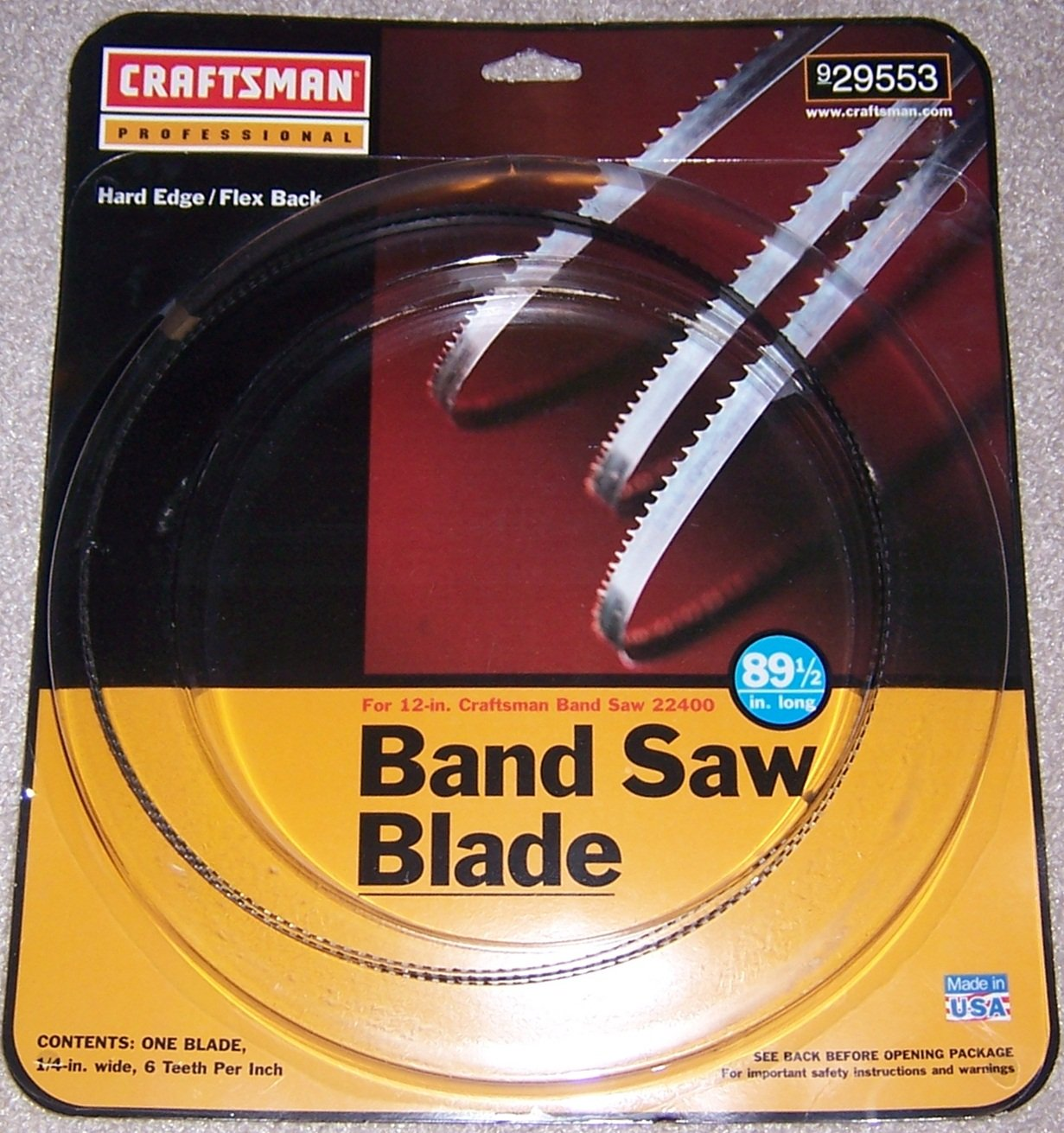 Band saw blade 14 6 teeth per inch 89 12 long for 12 band saw blade 14 6 teeth per inch 89 12 long for 12 craftsman band saw 22400 amazon greentooth Image collections