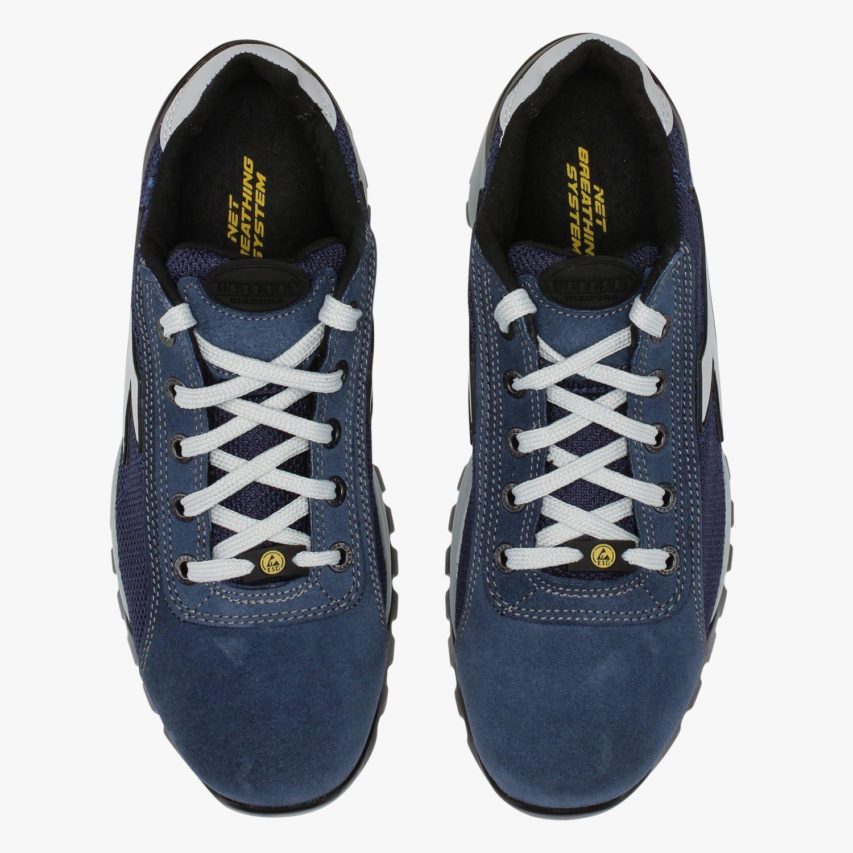 EU 42 Chaussure de Travail Glove Tech Low S1P SRA HRO ESD pour Homme et Femme Utility Diadora