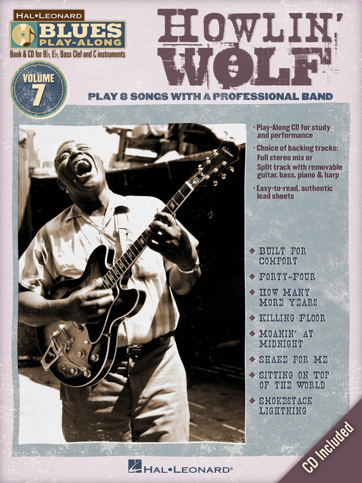 Howlin' Wolf - Blues Play-Along Volume 7 - Book and CD Package