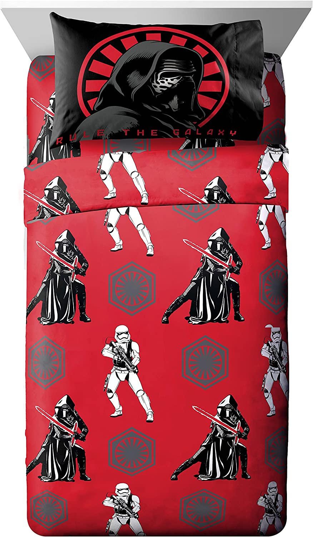 Star Wars Ep7 Rule Galaxy Twin 3 Piece Sheet Set