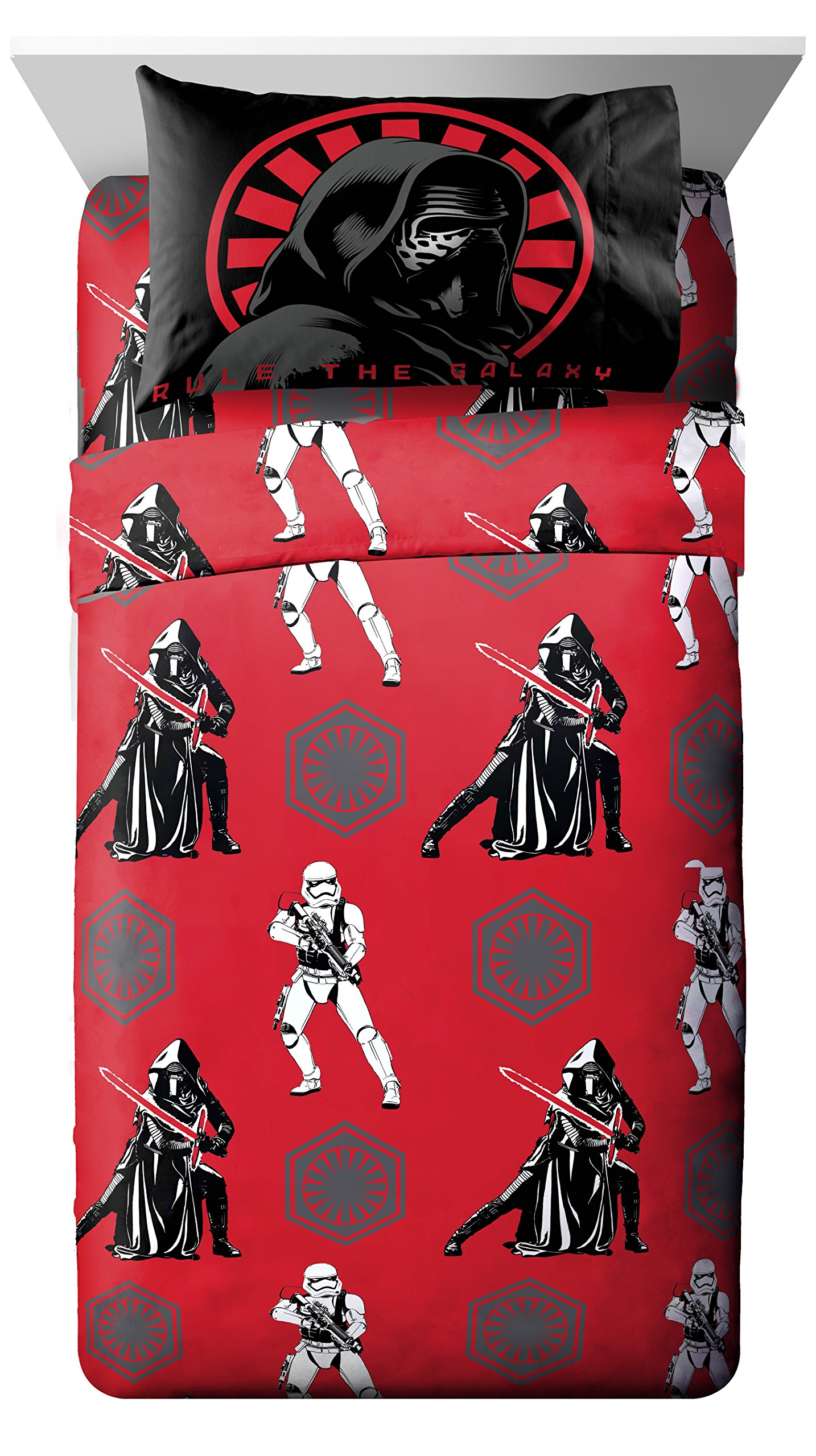 Star Wars Ep7 Rule Galaxy Twin 3 Piece Sheet Set by Jay Franco