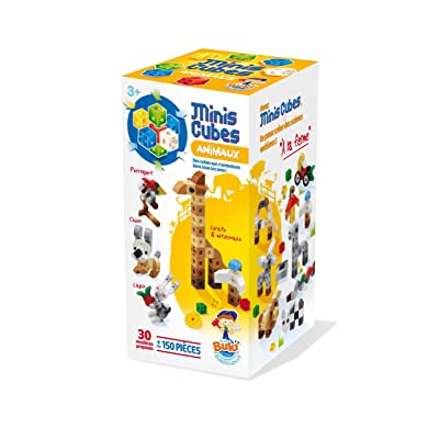Buki - 7126 - Mini Cubes Animaux