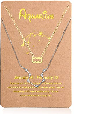 Zodiac Necklace Astrology NecklaceMom NecklaceHoroscope NecklaceZodiac Star Sign NecklaceChristmas Gift For SisterGift for Her