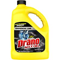 Drano Max Gel Drain Clog Remover and Cleaner for Shower or Sink Drains, Unclogs and Removes Hair, Soap Scum and…